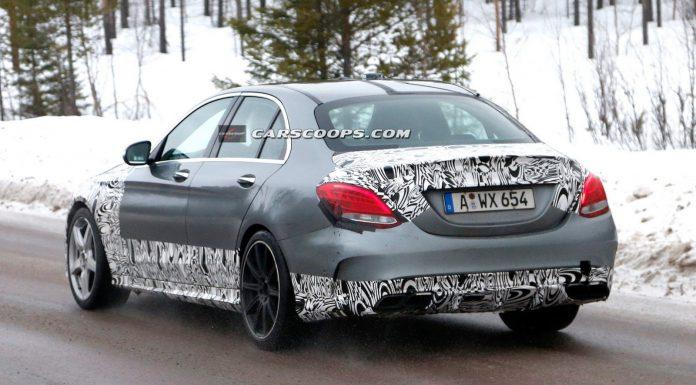 Next-Gen Mercedes-Benz C63 AMG Drops Some Camo