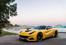 Yellow Novitec N-Largo Ferrari F12 by ByDesign Motorsports