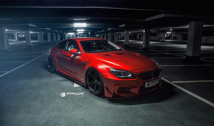 Official: Widebody BMW 6-Series by Prior Design