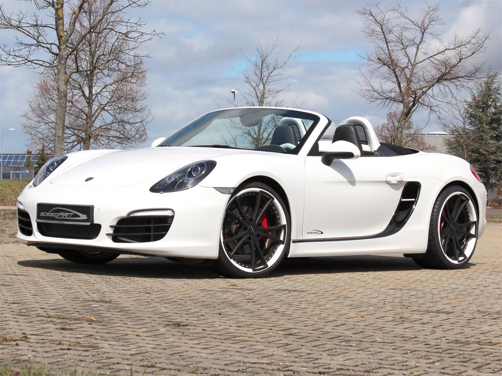white speedart porsche boxster s sp81 r gtspirit. Black Bedroom Furniture Sets. Home Design Ideas