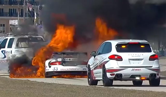 Watch 2014 SRT Viper GT3-R Burn in 12 Hours of Sebring