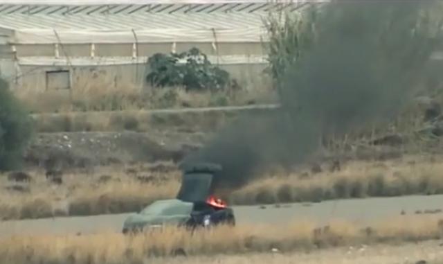 2000hp Russian Lamborghini Gallardo Catches Fire Again