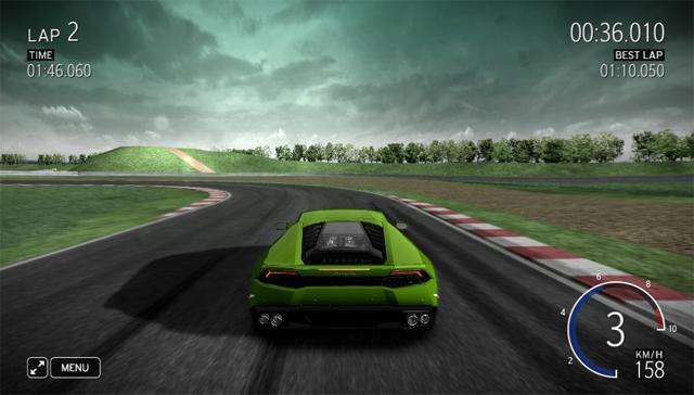 Lamborghini Huracan Driving Simulator Released