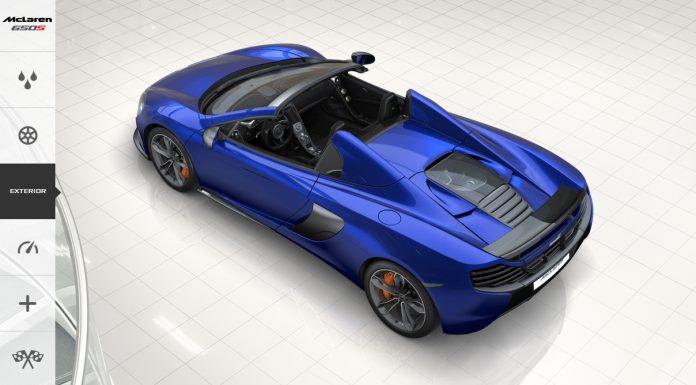 Go Crazy With The McLaren 650S Configurator