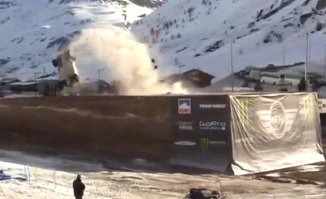 World Record Longest Car Jump Ends in Brutal Crash