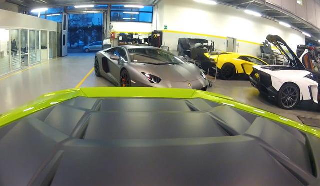 Launch Control and Hard Accleration in Lamborghini Huracan