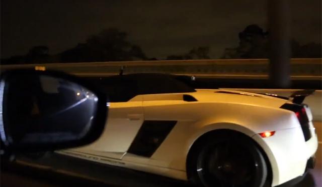 1800hp Lamborghini Gallardo Spyder Races 1500hp+ Nissan GT-R!