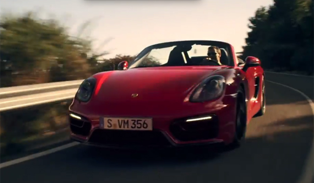 Watch the new Porsche Boxster GTS Stars in Official Clip