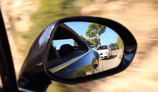 BMW M3 and Bentley Continental GT Scream on Mountain Roads