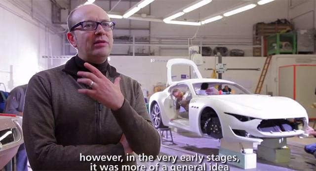 Maserati Discusses the Design of Alfieri Concept