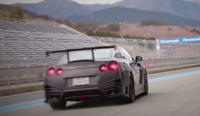 Nissan Tests GT-R Nismo With N-Attack Package