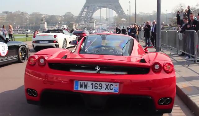 Video: Ferrari Enzo Loves to Rev in Paris