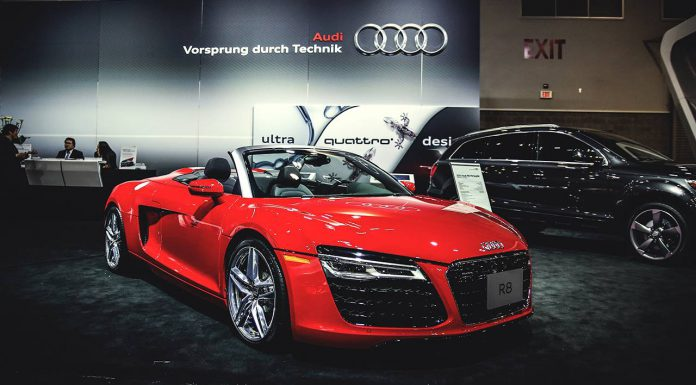 Audi at the Vancouver International Auto Show