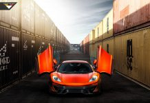 Volcano Orange McLaren 12C by Vorsteiner Looks Epic