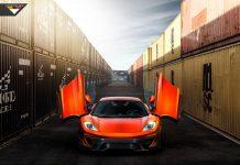 Volcano Orange McLaren 12C by Vorsteiner Looks Epic