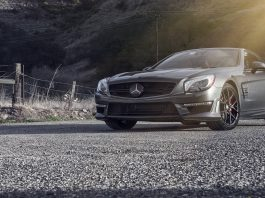 2014 Mercedes-Benz SL63 AMG with Vorsteiner Forged V-FF 101 Wheels