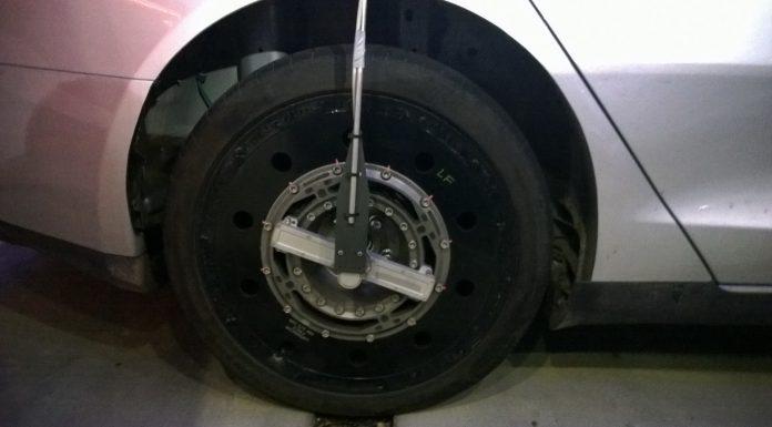 All-Wheel Drive Tesla Model S Spied Testing?