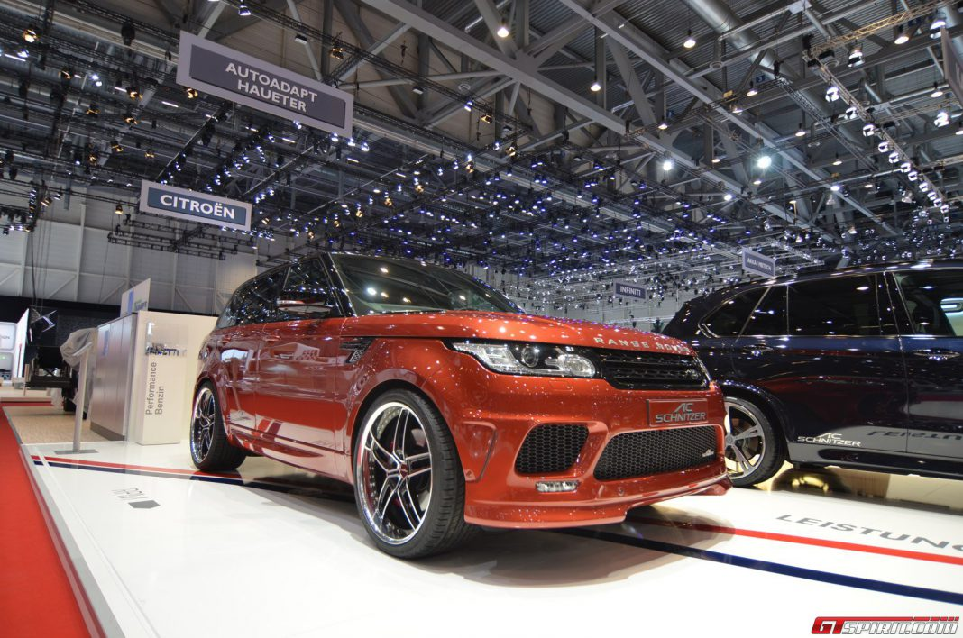 AC Schnitzer Range Rover at Geneva Motor Show 2014