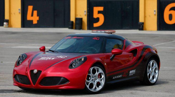 Alfa Romeo 4C at WTCC Pre Season Tests