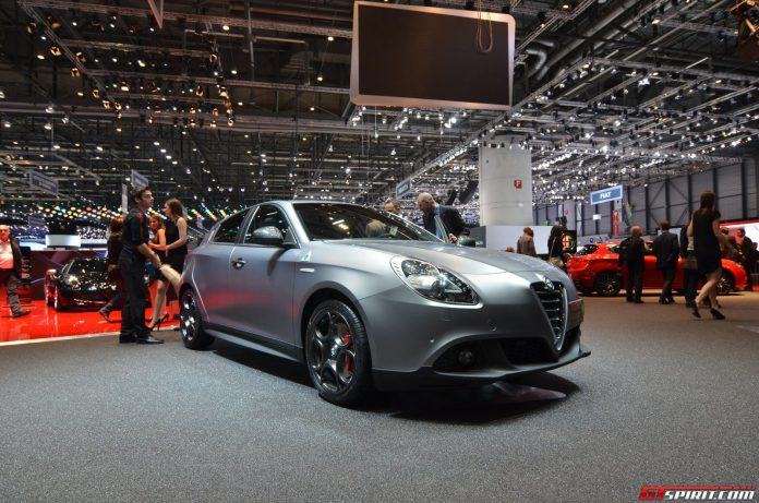Alfa Romeo Giulietta Quadrifoglio Verde at the Geneva Motor Show 2014