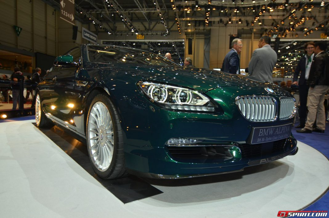 Alpina B6 xDrive Gran Coupe at the Geneva Motor Show 2014