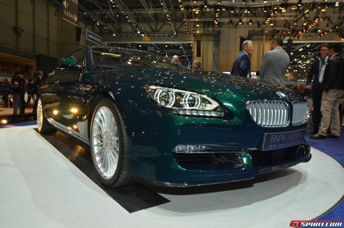 Alpina B6 xDrive Gran Coupe at the Geneva Motor Show 2014