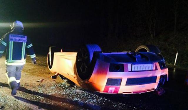 Mechanic Crashes Customer's Lamborghini Gallardo Spyder