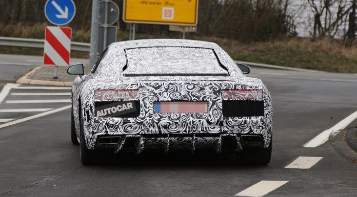 Next-Generation Audi R8 Spied Testing at the Nurburgring