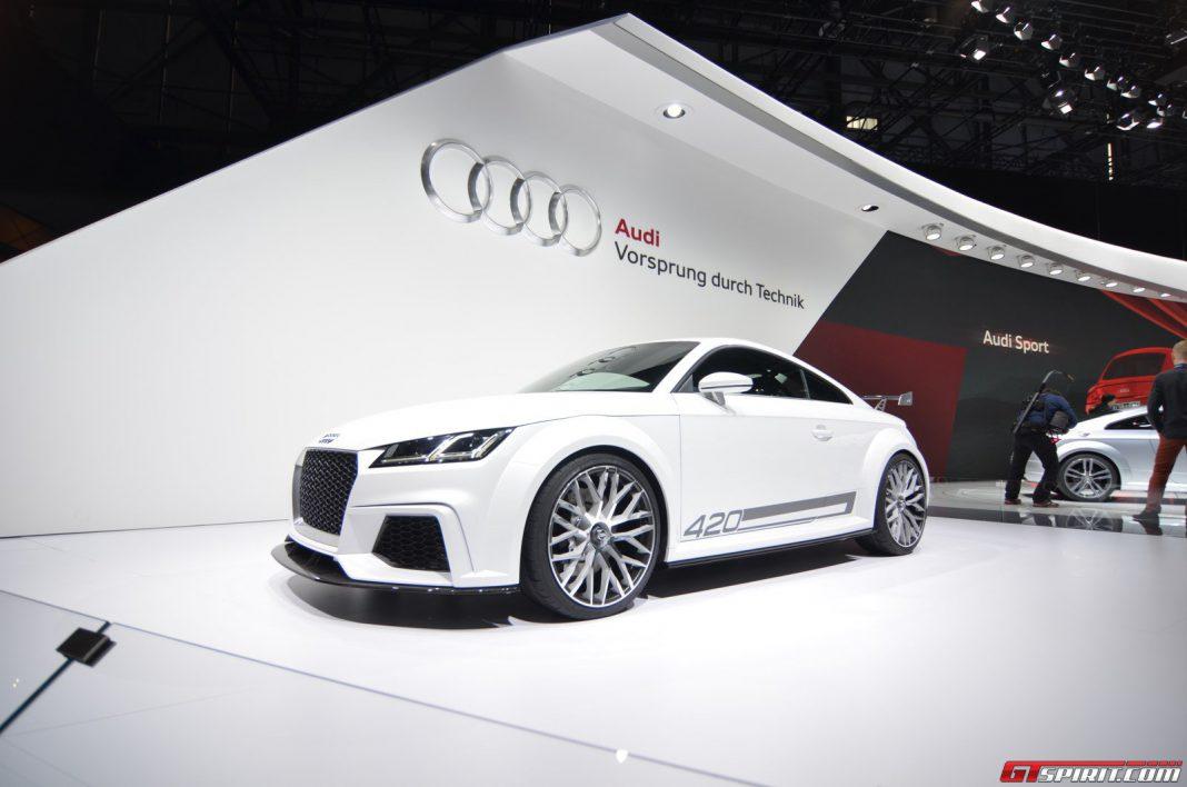 Geneva 2014: Audi TT Quattro Sport Concept