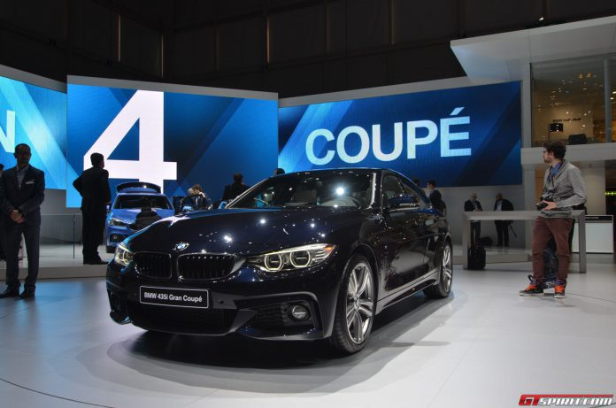 BMW 4-Series Gran Coupe at the Geneva Motor Show 2014