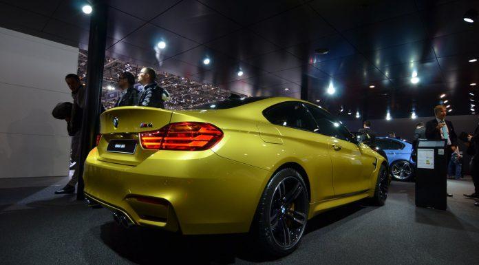 BMW M4 at Geneva Motor Show 2014
