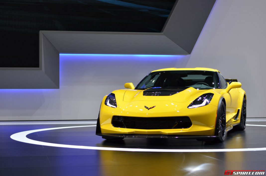 Corvette Z06 at the Geneva Motor Show 2014