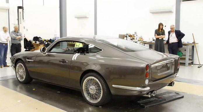 David Brown Automotive Speedback GT Previewed