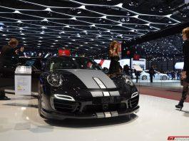 Geneva: TechArt Porsche 991 Turbo S