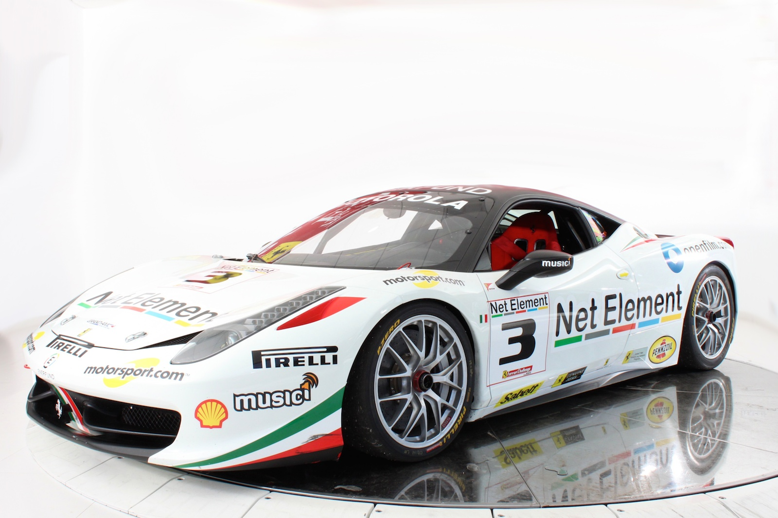 Stunning White Ferrari 458 Challenge For Sale Gtspirit