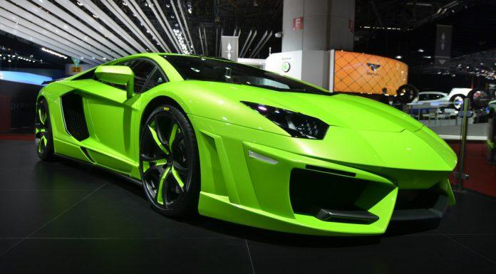 FAB Design Spidron Aventador at Geneva Motor Show 2014