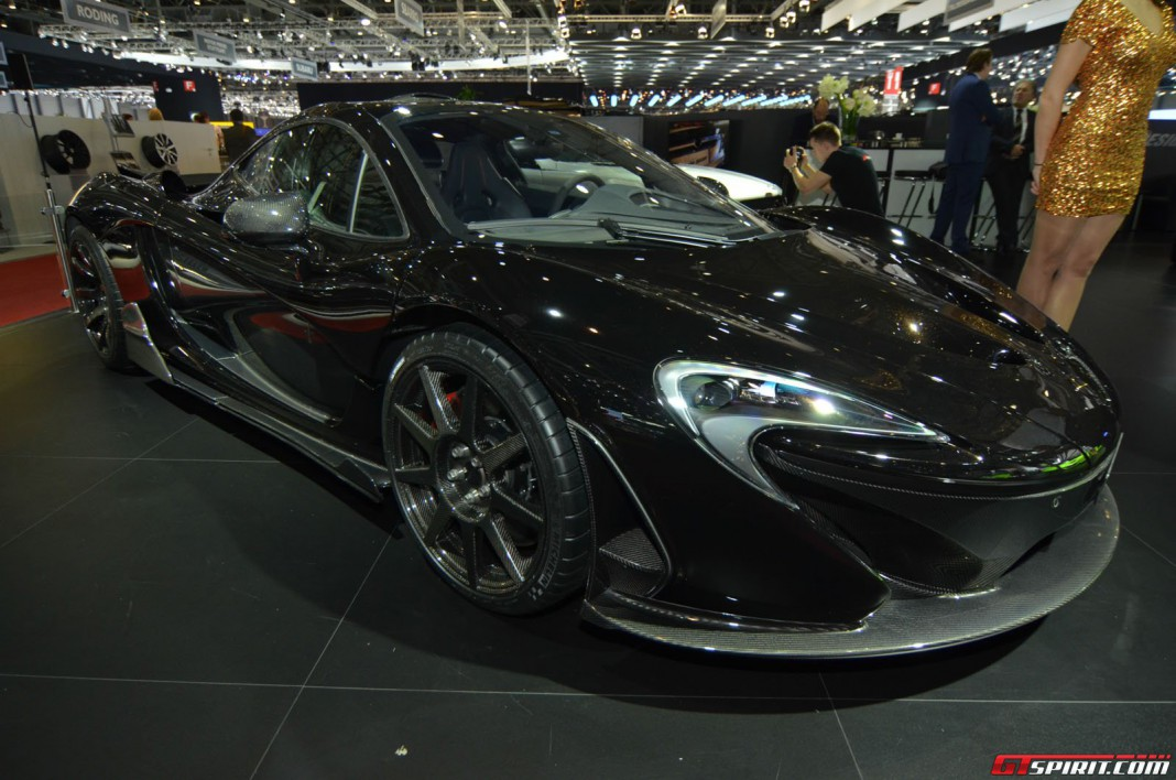 FAB Design McLaren P1 at Geneva Motor Show 2014