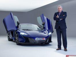 Frank Stevenson McLaren 650S Interview