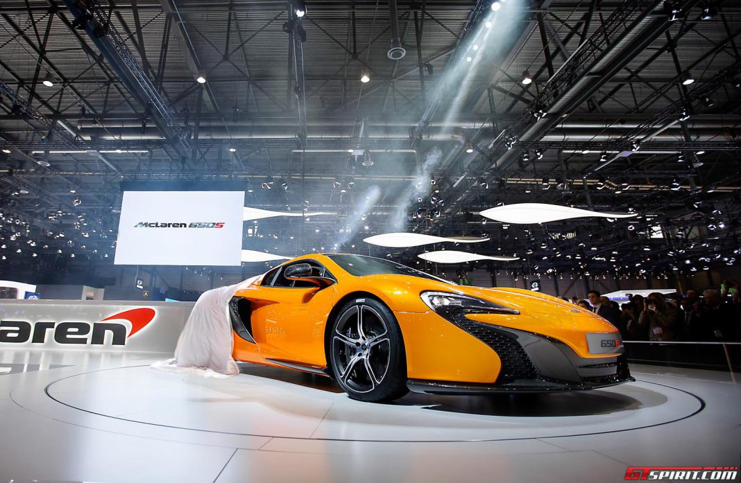 Additional McLaren P13 Details Surface; 650S Inspired Styling Likely