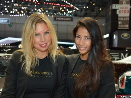Girls at the Geneva Motor Show 2014 Part 4