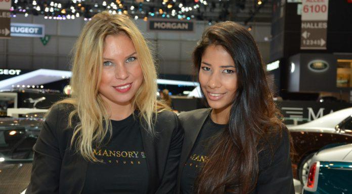 Girls at the Geneva Motor Show 2014 Part 4