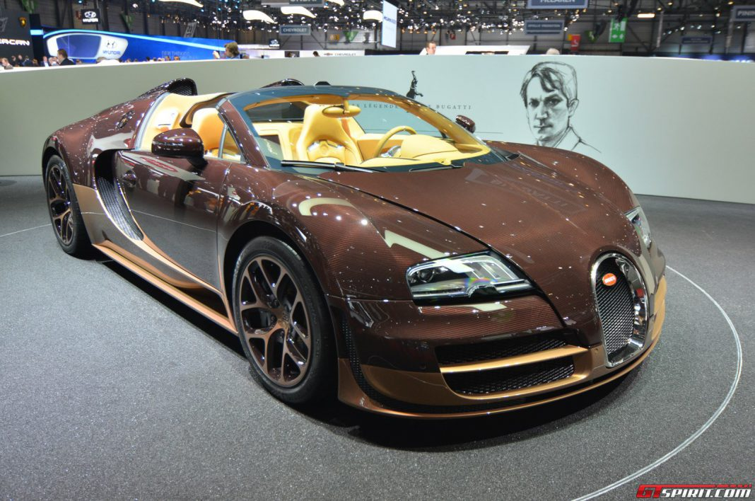 Final Bugatti Veyron 'Legends' Edition Coming to Pebble Beach