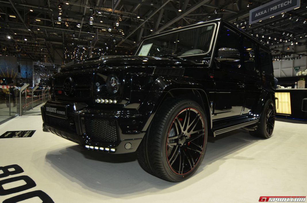 Brabus G 65 800 iBusiness at Geneva Motor Show 2014