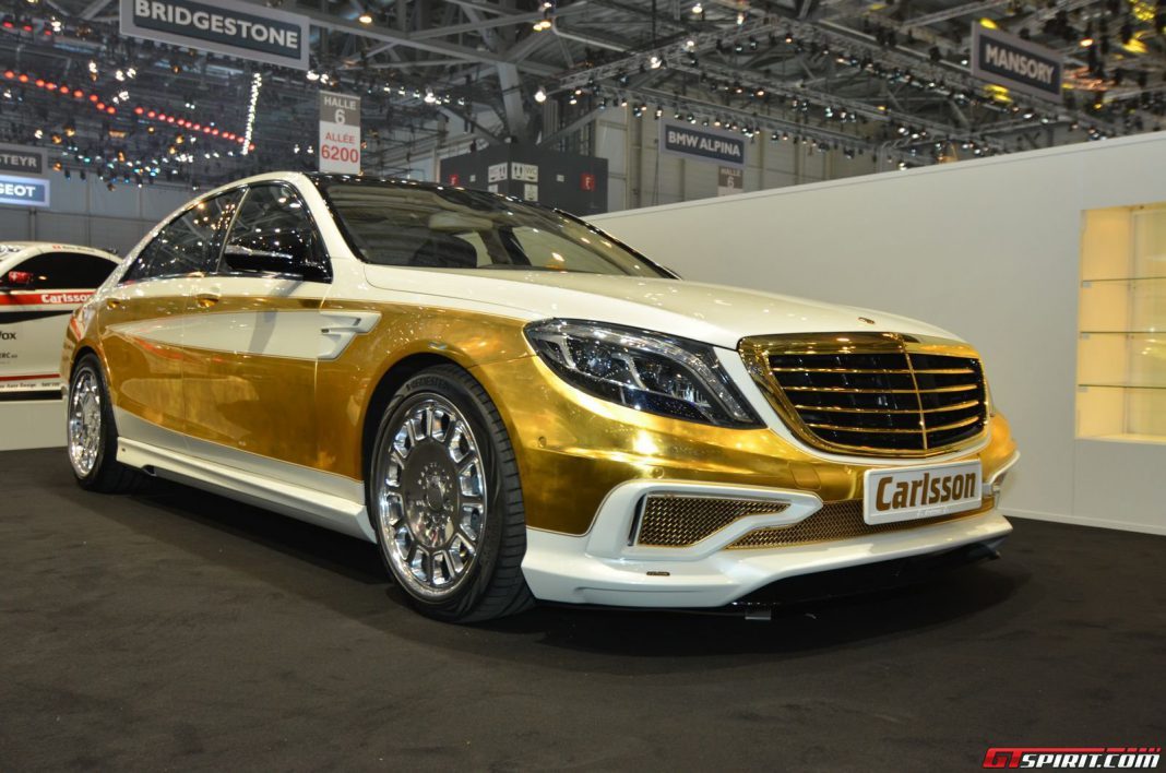 Carlsson SC50 Gold Edition at Geneva Motor Show 2014