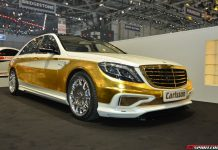 Carlsson SC50 Gold Edition at Geneva Motor Show 2014