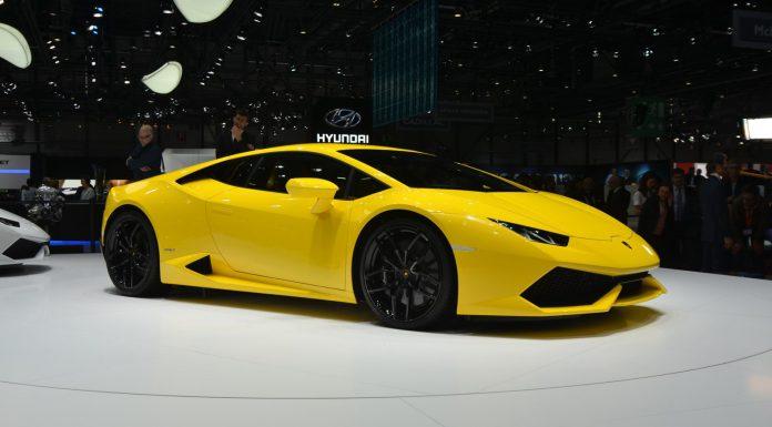 Lamborghini at Geneva Motor Show 2014