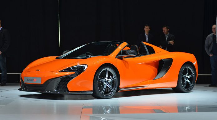 McLaren 650S Spider at Geneva Motor Show 2014