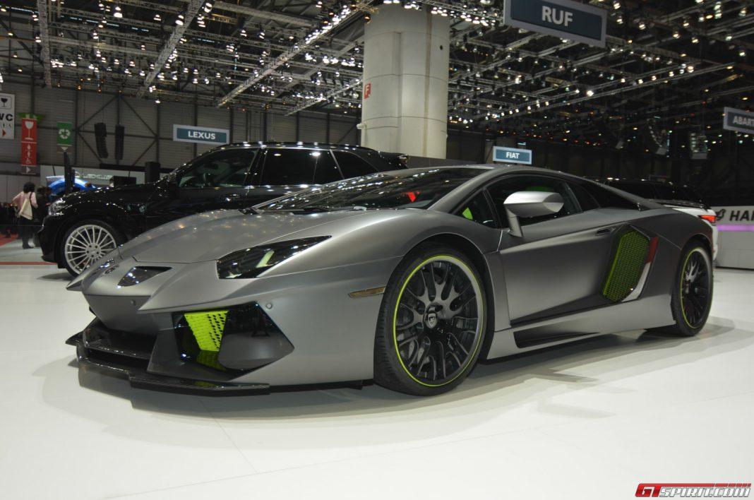 Hamann Lamborghini Aventador at Geneva Motor Show 2014