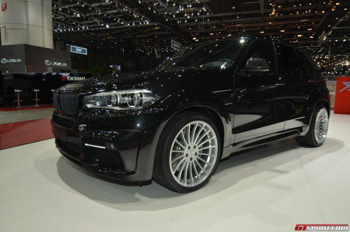 Hamann BMW X5 at the Geneva Motor Show 2014