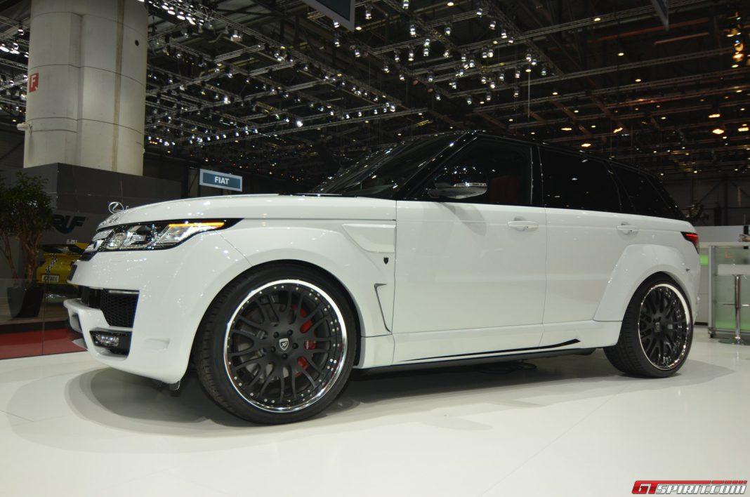 Hamann Range Rover Sport at Geneva Motor Show 2014
